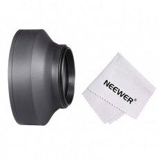Microfiber Cloth 43mm Lens Cap Center Pinch for Pentax K-5 IIs + Lens Cap